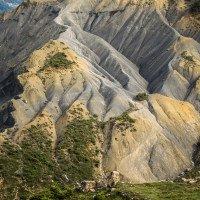 Albánské kopce jsou zvláštní směs hlíny a kamení