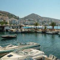 Saranda - turistické letovisko u Jónského moře