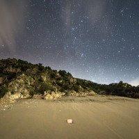 Noční výlet na písečnou dunu