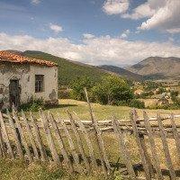 Typické albánské vnitrozemí