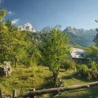 Valbona -  Albánské Alpy