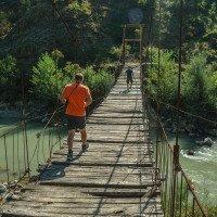 Zkouška pevnosti mostu