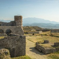 Pevnost Rozafa nad Skadarem