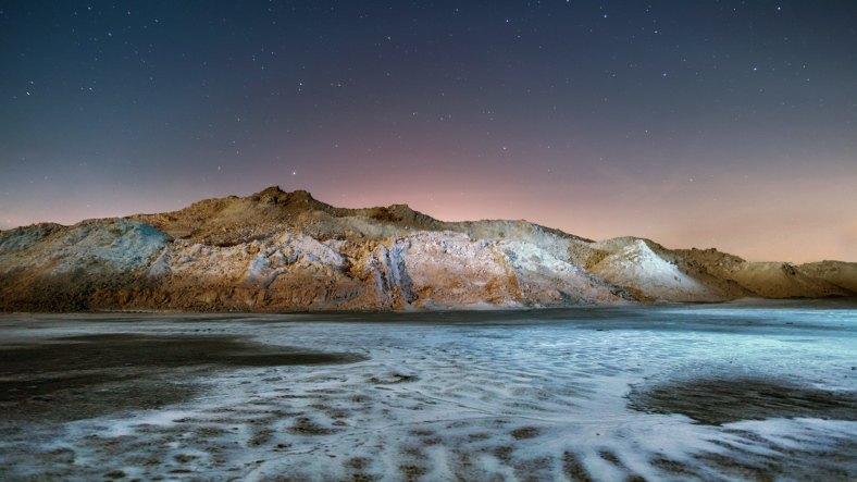 Popílkoviště trochu připomíná sopečnou krajinu Islandu.