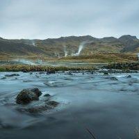 Hveragerdi - cesta do hor k horké řece Reykjadalur