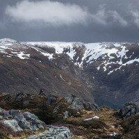 Výhled na horský masiv Ulrikenu