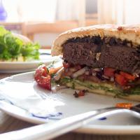 Velrybí burger. Vynikající!