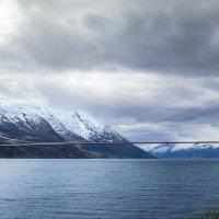 Most přes fjord - jedno přejetí mostu za 150 NOKů
