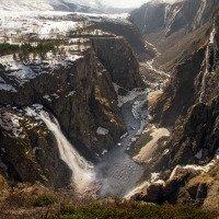 Vodopády Vøringsfossen