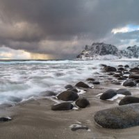 Pláž Uttakleiv