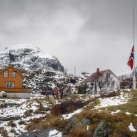 Vesnice jménem Å - poslední kousek civilizace, dál už silnice nevede