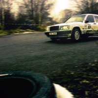 Amateur rallye - závod autovraků