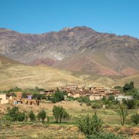 Pohoří atlas hraje všemi barvami