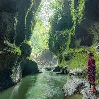 Undisan - posvátný kaňon kde se mísí voda mužské a ženské řeky