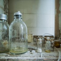 Sanatorium Beelitz - moc toho nezbylo