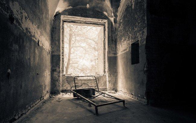 Sanatorium Beelitz - poslední zbytky mobiliáře