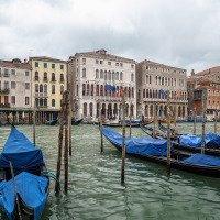Benátky před bouří