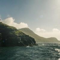 Plavba z Mykinesu zpět na hlavní ostrovy