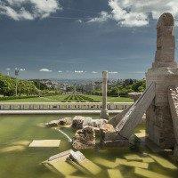 Výhled na Lisabon z parku Eduarda VII