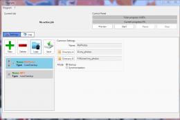 Nastavení zálohování složky MyPhotos a MP3
