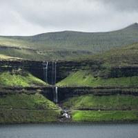 Vodopád Fossá - jeden z nejvyšších na Faerách