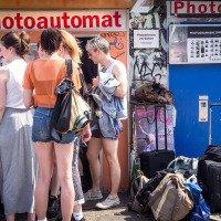 Fotobudky jsou v Berlíně hodně populární