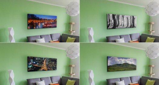 Různé varianty fotek v interiéru