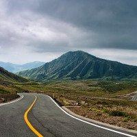 HDR úprava: Mt Aso - Japonsko