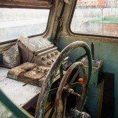 Holešovický přístav - kapitánský můstek
