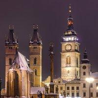 Velké náměstí - historické centrum Hradce Králové