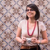 Klasické lisabonské kachlíky a turisti :)