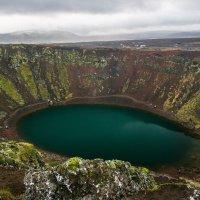 Vulkanický kráter Kerid - jediné místo, kde se platilo vstupné