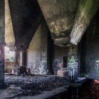 """Koksovna je """"vyzdobená"""" graffiti"""