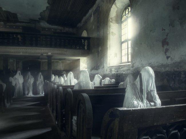 Duchové Věřících v kostele sv. Jiří