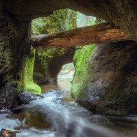 Křinice - dvojitý skalní most