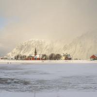 Lofotská vesnička