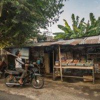 Lombok - typický obchod