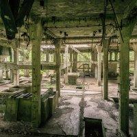 Sauersack - nacistická továrna na těžbu a zpracování cínu