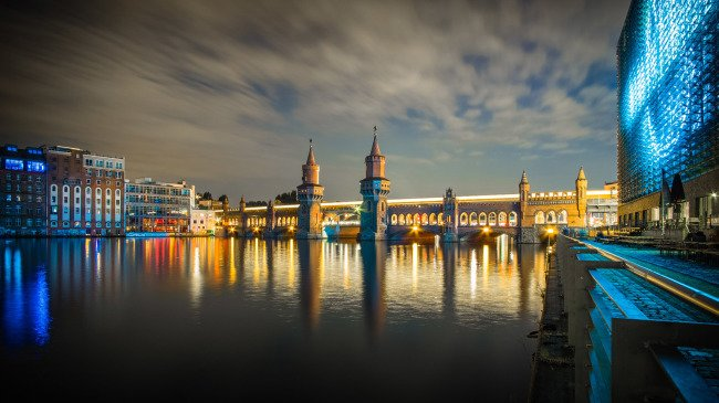 Světla nočního Berlína