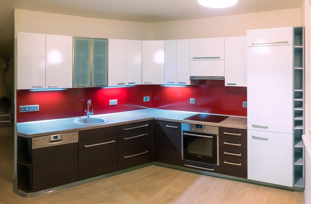 Panorama rohové kuchyně