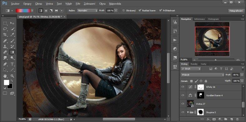 Základní retuš ve Photoshopu, 2. část - úprava pleti - YouTube