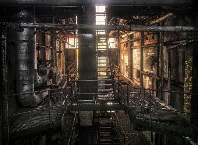 Stará teplárna na Veleslavíně - industriální prolézačka