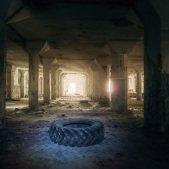 Přízemí tovární haly