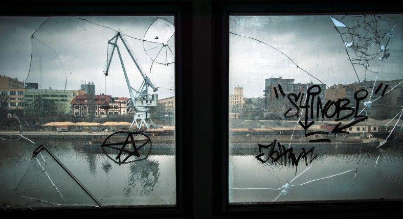 Přístav holešovice - panorama