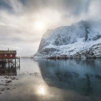 Reine - rybářské domky