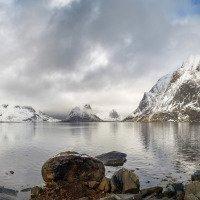 Výhled na Reinefjorden