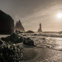 Černá sopečná pláž Reynisfjara
