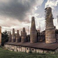 Historická vápenka v Rüdersdorfu - součást Museumparku