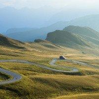 Passo Giau - Ráj pro motorkáře