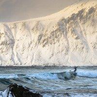 Surfování za polárním kruhem